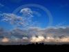 Nimbo stratus clouds